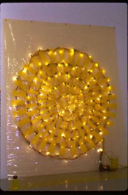 """Sunny Sideways with Oxygen,"" work by the U.S. artist Terri Friedman, www.terrifriedman.com"